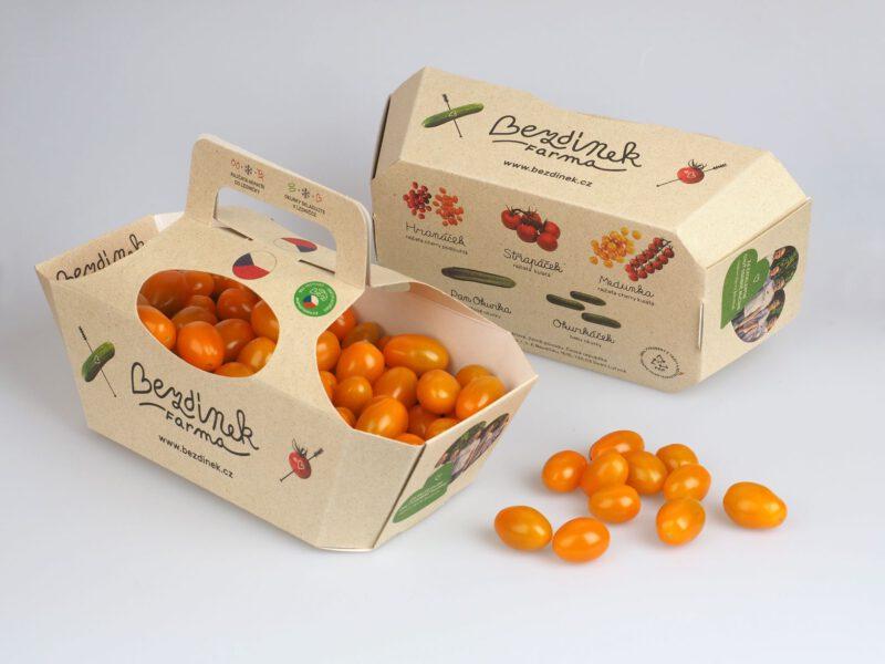 bezdinek kosik hranacek oranzovy