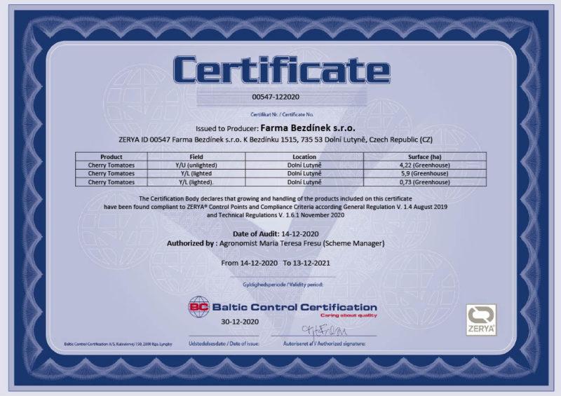 ZERYA Certificate Farma Bezd+şnek s.r.o. until 13-12-20211024_1